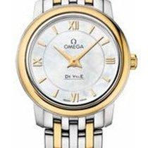 Omega 424.20.24.60.05.001 De Ville Prestige Co-Axial 24.4mm in...