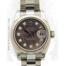 Rolex stainless steel ladies Datejust