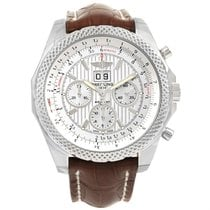 Breitling Bentley 6.75 Speed Chronograph Silver Dial Watch...