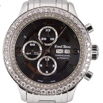 Ernst Benz Chrono-Jewel Chronograph GC10121DD Diamond Stainles...