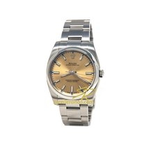 Rolex Oyster Perpetual 34mm White Grape