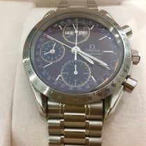 Omega Speedmaster chronograph Day-Date automatic stainless steel