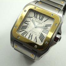"Cartier Santos 100 XL 2656 ""100 Yr Anniversary"" tutone..."