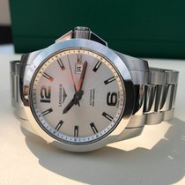 Longines Conquest Automatic Silver Dial 41 mm