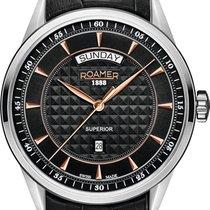 Roamer SUPERIOR DAY DATE 508293 49 55 05 Herrenarmbanduhr...