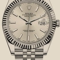 Rolex Datejust NEW MODEL 41 mm, steel and white gold