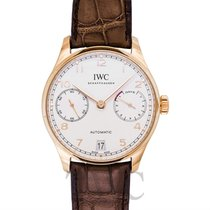 IWC Portugieser Automatic White/18k Red Gold 42.3mm - IW500701