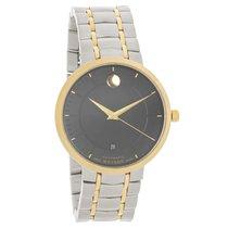 Movado 1881 Series Automatic Mens Black Dial Quartz Watch 0606916