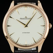 Jaeger-LeCoultre 18k R/G Cream Dial Ultra Thin Automatic...