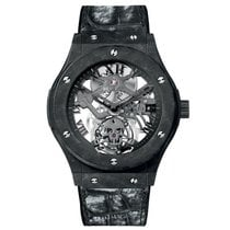 Hublot Classic Fusion Skeleton Tourbillon Black Skull 45mm