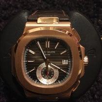 Patek Philippe Nautilus Chronograph 18kt Rose Gold 5980R-001