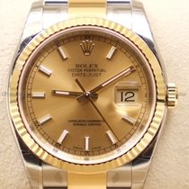 Rolex Datejust, Ref. 116233 - champagner Index ZB/Oysterband