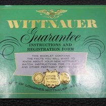 Wittnauer vintage warranty green booklet newoldstock rare