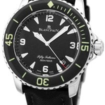 "Blancpain ""Fifty Fathoms"" Diver Strapwatch."