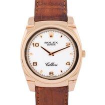 Rolex Cellini Cestello 35mm In Oro Giallo 18kt Ref. 5330