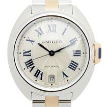 Cartier Clé De Cartier Stainless Steel Silver Automatic W2CL0003
