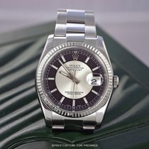 Rolex 116234 Black and Silver Oyster