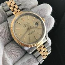 Rolex Datejust 16233 'e' Two Tone Champagne Dial...