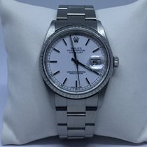 Rolex Datejust Stainless Steel White Dial