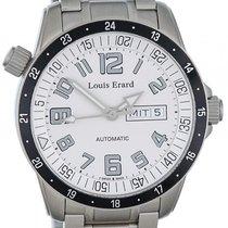 Louis Erard Sportive Day Date Stahl Automatik 42mm
