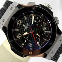 Hublot BIG BANG CERMIC BLACK CARBON CHRONOGRAPH