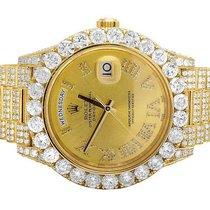 Rolex Mens Rolex Day-Date II 18k President 228238 Yellow Gold...