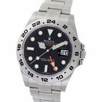 ロレックス (Rolex) Explorer II Black Dial Stainless Steel 42MM...