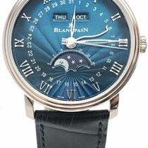 Blancpain Villeret Complete Calendar 6654-1529-55B 18k White...