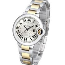 Cartier W6920099 Ballon Bleu 33mm 2-Tone SS/YG - on Bracelt...