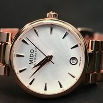 Mido Baroncelli Lady Steel Bracelet Data PVD M0222073303110