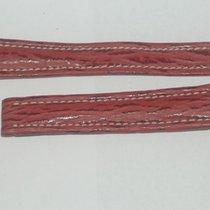 Breitling Leder Armband Band 16mm 16-14 Für Faltschliesse Neu Rot