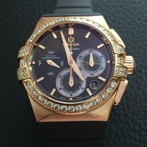Omega Constellation Double Eagle 18k pink gold,Diamonds