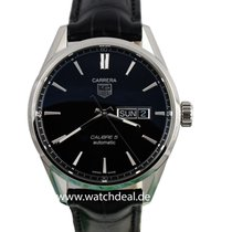 TAG Heuer Carrera Calibre 5 Day-Date Automatik 41mm  WAR201A.F...