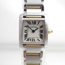 Cartier Tank Francaise Damen  Stahl /Gold Revisioniert