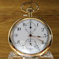 Longines Pocket Chronograph 18kr Gold / Inkl. MwSt