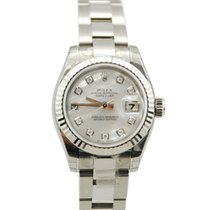 Rolex Ladies DateJust Stainless Steel Mother Of Pearl Dial-179174