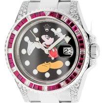 ロレックス (Rolex) Rolex GMT-Master II Stainless Steel Ruby Mickey...