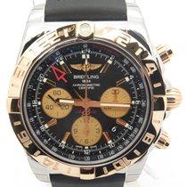 Breitling Cb042012 Chronomat 44 Gmt 18k Rose Gold Automatic ...