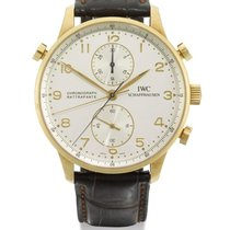 IWC | A Yellow Gold Split-seconds Chronograph Wristwatch With...