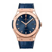 Hublot Classic Fusion Blue Chronograph King Gold 42mm Ref...