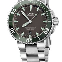 Oris Aquis Date, Ceramic Top Ring, Steel Bracelet