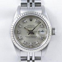 Rolex Lady Datejust Diamond Weißgold Date Fullset Deutsche...