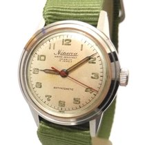 Minerva Antimagnetic Military Cal. 49 Sweep Second 31mm Steel