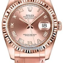 Rolex Datejust 36mm Everose Gold 116135 Pink Roman