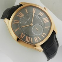Cartier Drive Automatic WGNM0004 Rose Gold Leather NEW Gray