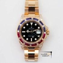 Rolex GMT-Master II Diamonds-Sapphires-Rubies