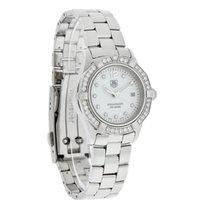 TAG Heuer Aquaracer Ladies Diamond Swiss Quartz Watch WAF1416....