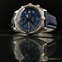 Breitling Crosswind Gold/Steel Diamonds