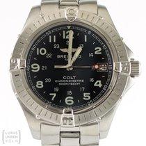 Breitling Uhr Colt Quarz Edelstahl A74350