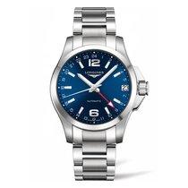 Longines Conquest GMT Automatic Blue Dial Men's Watch...